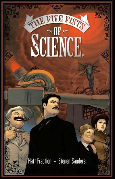 The Five Fists of Science (2006) (GN)