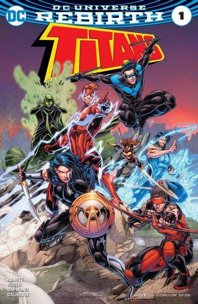 Titans – Rebirth #1 + #1 – 36 + Annuals (2016-2020)