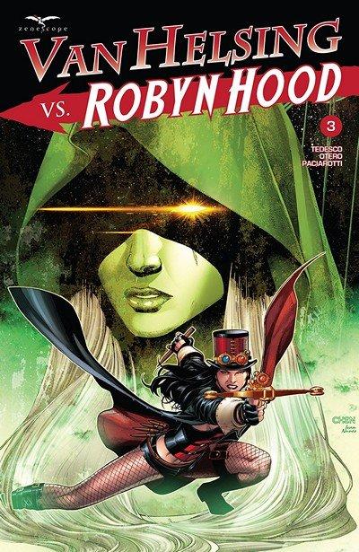 Van Helsing Vs. Robyn Hood #3 (2018)