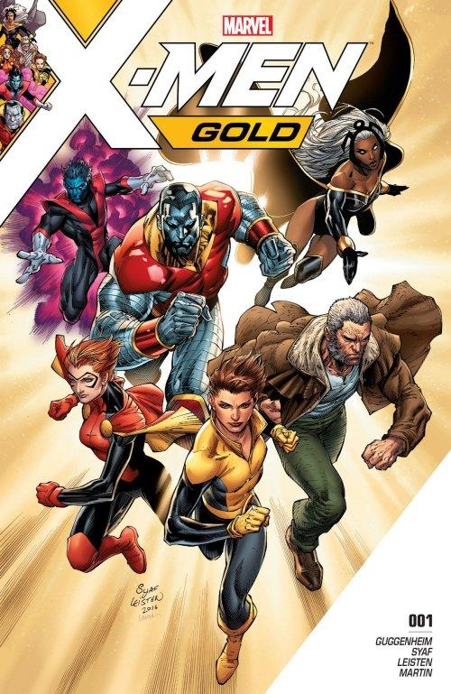 X-Men Gold #1 – 24 + TPB Vol. 0 – 4 (2017-2018)