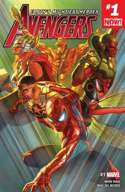 Avengers Vol. 7 #1 – 11 + 672 – 690 + TPB + Extras (2017-2018)
