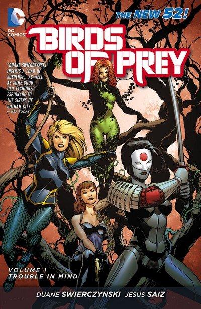 Birds of Prey Vol. 3 (New 52 TPB) – Vol. 1 – 5 (2012-2015)