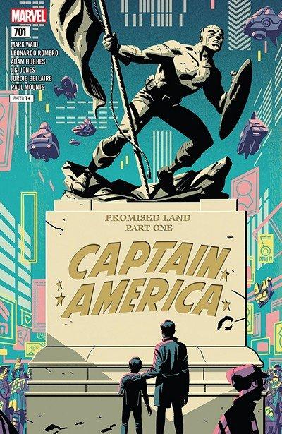 Captain America #701 (2018)