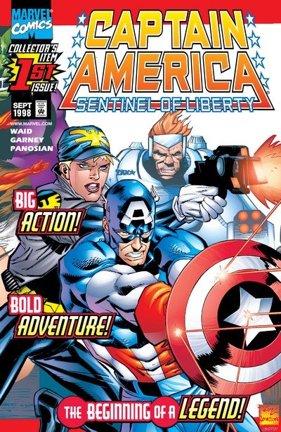 Captain America – Sentinel Of Liberty #1 – 12 + Extras (1998-1999)
