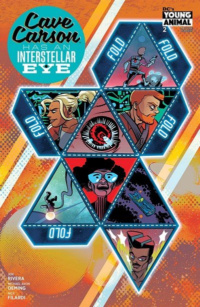 Cave Carson Has An Interstellar Eye #2 (2018)