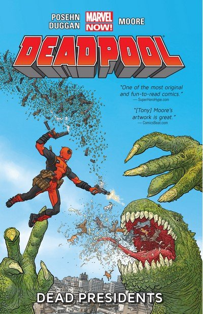 Deadpool Vol. 3 TPB – Vol. 1 – 8 (2013-2015)
