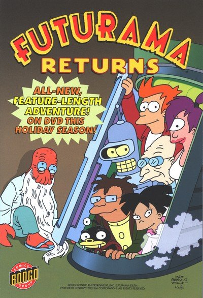 Futurama Returns (2007)
