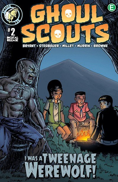 Ghoul Scouts – I Was a Tweenage Werewolf #2 (2018)