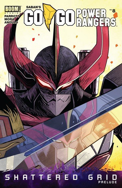 Go Go Power Rangers #8 (2018)