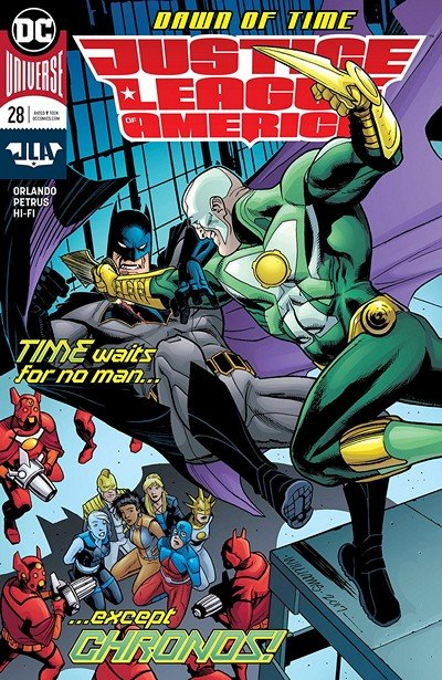 Justice League Of America #28 (2018)