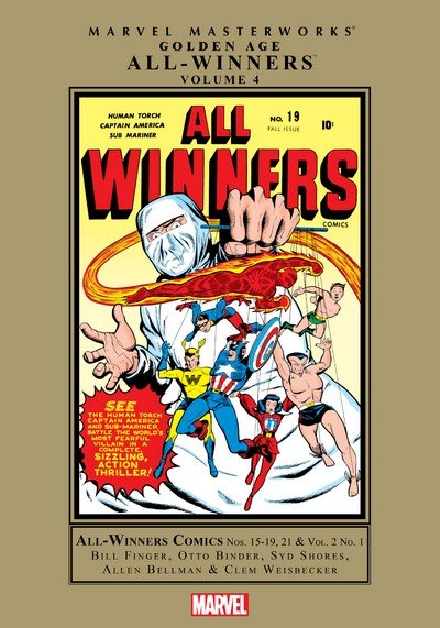 Marvel Masterworks – Golden Age All-Winners Vol. 4 (2011)