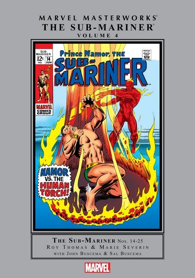 Marvel Masterworks – The Sub-Mariner Vol. 4 (2011)