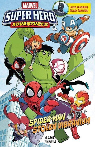 Marvel Super Hero Adventures #1 – Spider-Man And The Stolen Vibranium (2018)