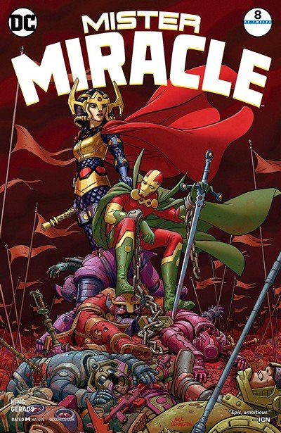 Mister Miracle #8 (2018)