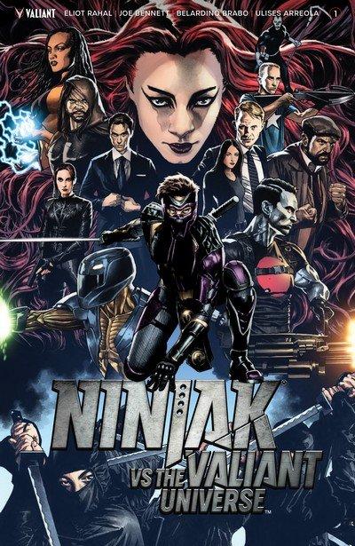 Ninjak vs. the Valiant Universe #1 – 4 (2018)