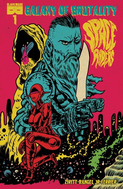 Space Riders – Galaxy Of Brutality #1 – 4 (2017-2018)