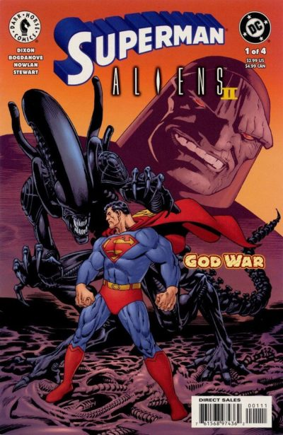 Superman Aliens 2 – God War #1 – 4 (2002)