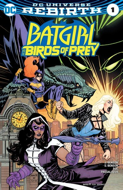 Batgirl and the Birds of Prey – Rebirth #1 + #1 – 22 + TPBs (2016-2018)