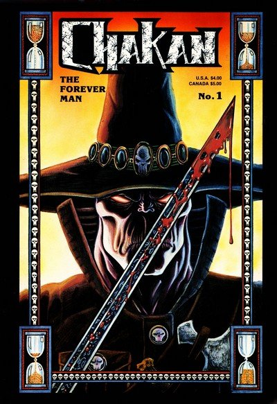 Chakan The Forever Man #1 – 4 (1990-1994)