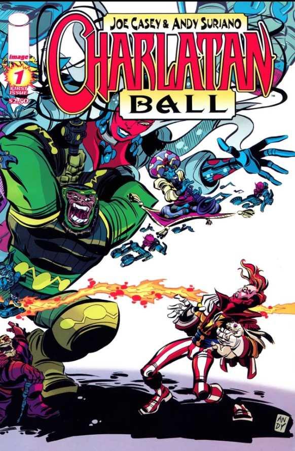 Charlatan Ball #1 – 6 (2008-2009)