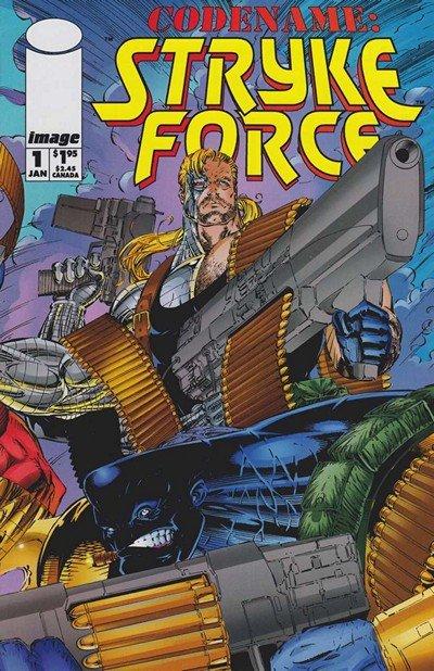 Codename – StrykeForce #0 – 14 (1994-1995)