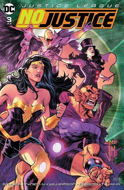 Justice League – No Justice #3 (2018)