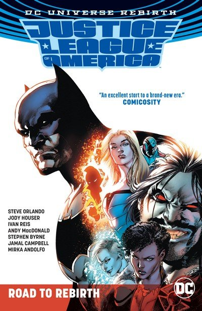 Justice League of America – Road to Rebirth (TPB) (2017)