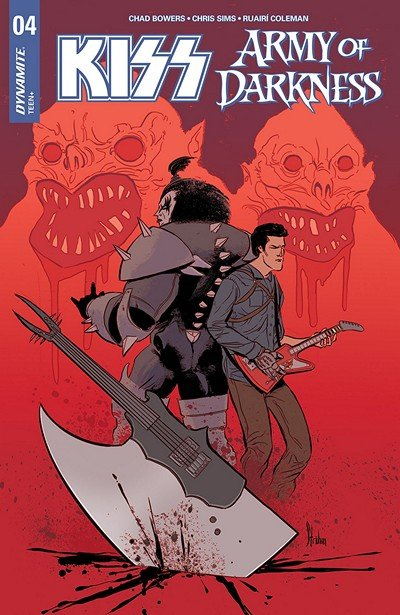 KISS – Army Of Darkness #4 (2018)