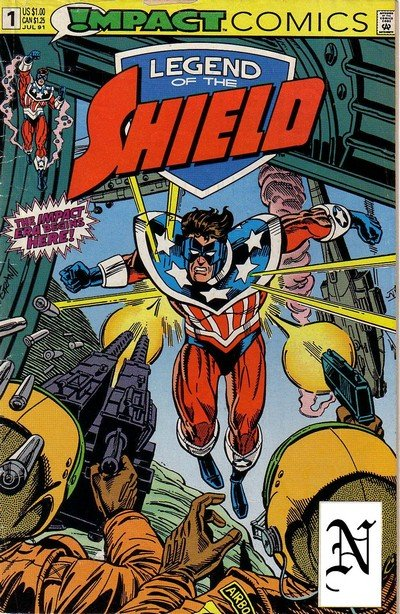 Legend of the Shield #1 – 16 (1991-1992)