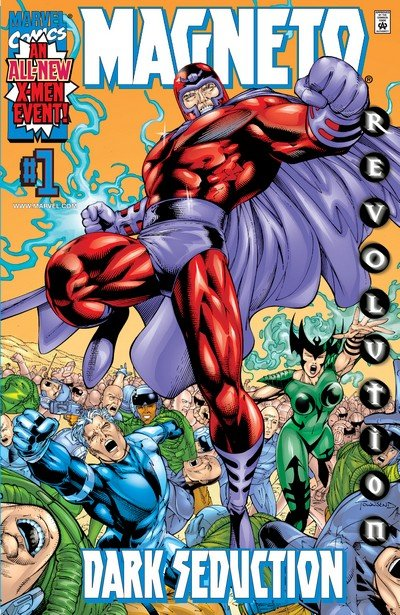 Magneto Dark Seduction #1 – 4 (2000)