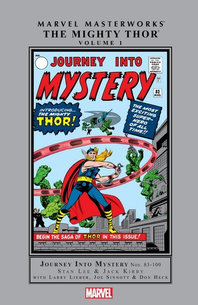 Marvel Masterworks – The Mighty Thor Vol. 1 – 19 (1994-2020)