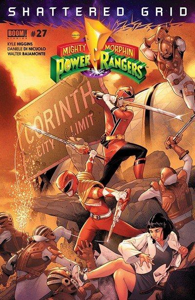 Mighty Morphin Power Rangers #27 (2018)