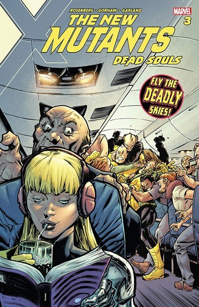New Mutants – Dead Souls #3 (2018)