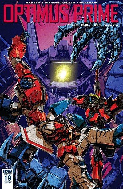 Optimus Prime #19 (2018)