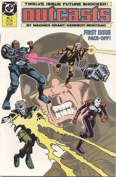 Outcasts #1 – 12 (1987-1988)