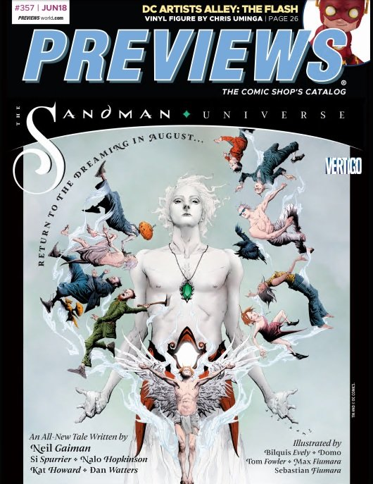 Previews #357 (June 2018 for Aug 2018)