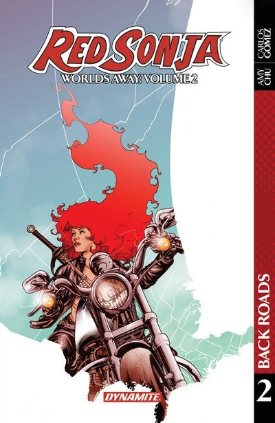 Red Sonja – Worlds Away Vol. 2 – Back Roads (TPB) (2018)
