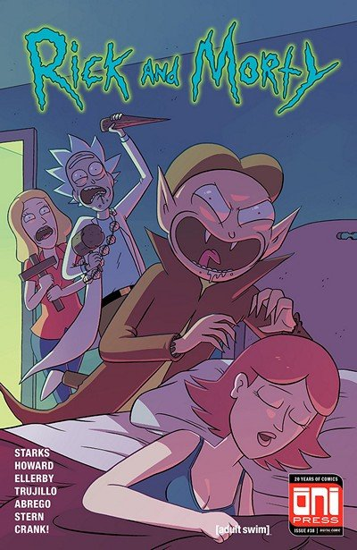 Rick And Morty #38 (2018)