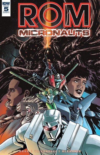 ROM & The Micronauts #5 (2018)