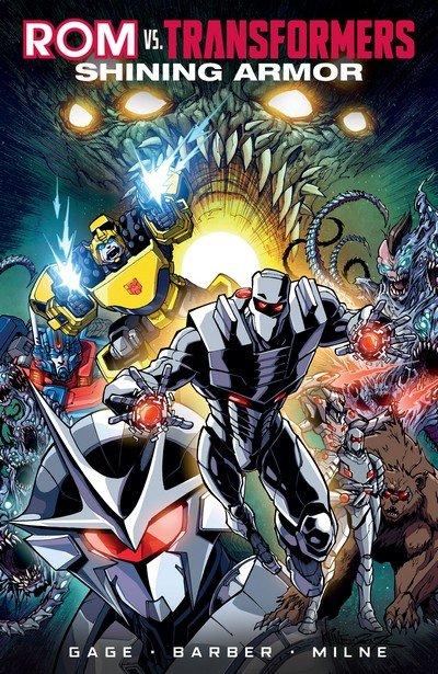 Rom vs. Transformers – Shining Armor (TPB) (2018)
