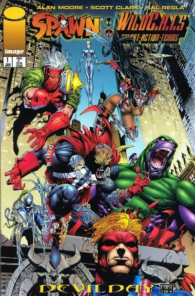 Spawn – WildCATS #1 – 4 (1996)