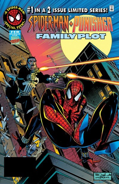Spider-Man-Punisher – Family Plot #1 – 2 (1996)