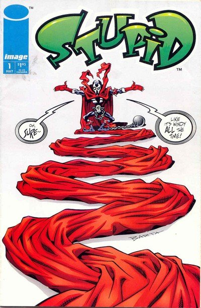 Stupid #1 (1993) (Spawn)