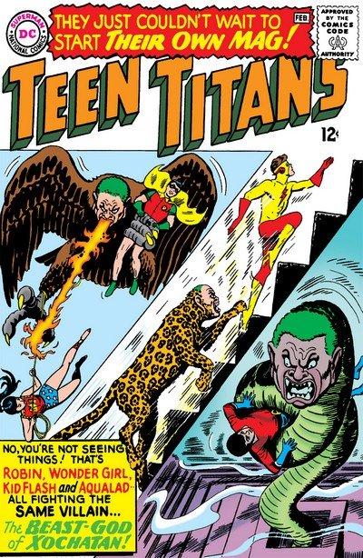 Teen Titans Vol. 1 #1 – 53 + Annual (1966-1977) (Digital + Scan)