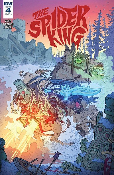 The Spider King #4 (2018)
