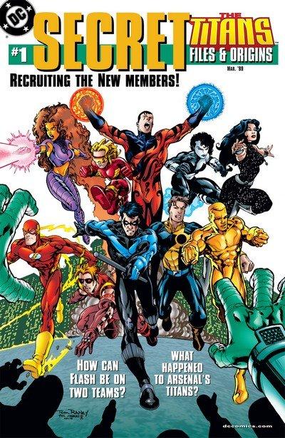 The Titans – Secret Files and Origins #1 – 2 (1999-2000) (Digital)