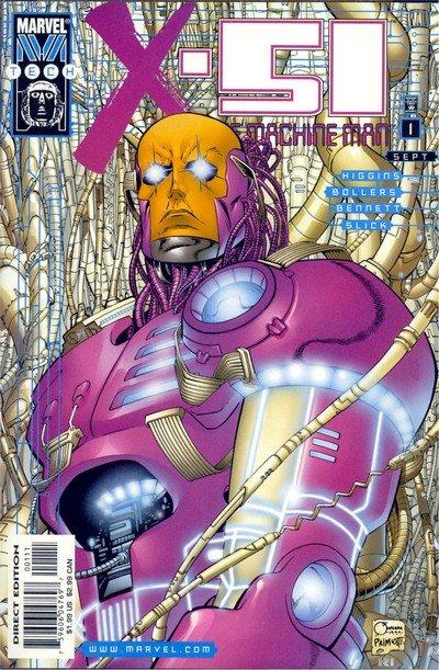 X-51 – The Machine Man #0 – 12 (1999-2000)