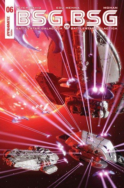 Battlestar Galactica Vs. Battlestar Galactica #6 (2018)