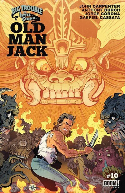 Big Trouble In Little China – Old Man Jack #10 (2018)