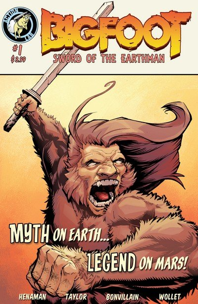 Bigfoot – Sword of the Earthman #1 – 6 + TPB (2015-2016)